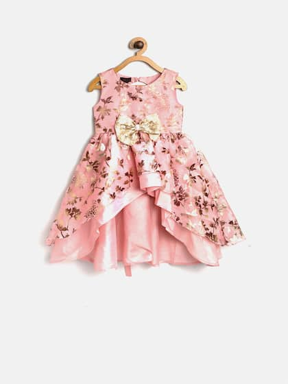 a37b9b5e19f Kids Party Dresses - Buy Partywear Dresses for Kids online | Myntra