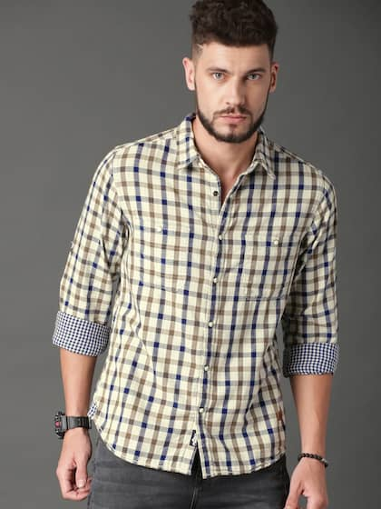 cd63f076348 Check Shirts | Buy Check Shirts for Men & Women Online in India at ...