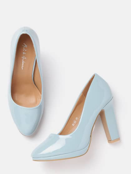 f16f2a2f132 Blue Heels - Buy Blue Heels Online in India