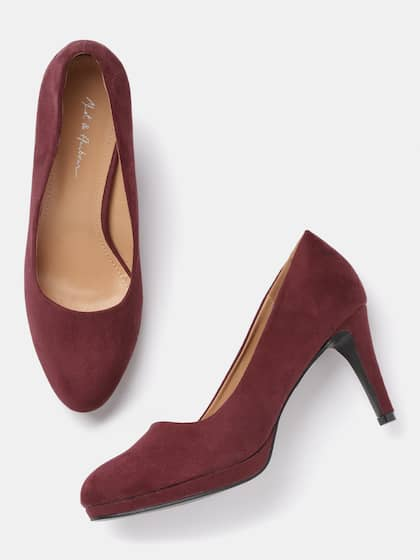 48424033b40 Burgundy Heels - Buy Burgundy Heels online in India