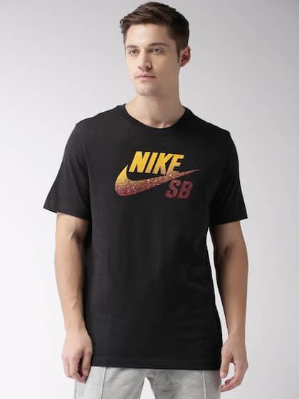 b8bd1c87bff560 Nike Men M NK SB DFCT LOGO NBA Black Printed DRI-FIT Running T-