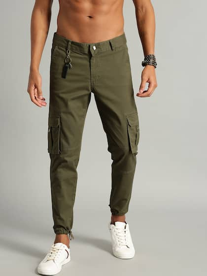30286b97f6 Cargo Pants For Men - Buy Latest Trendy Cargo Pants Online | Myntra