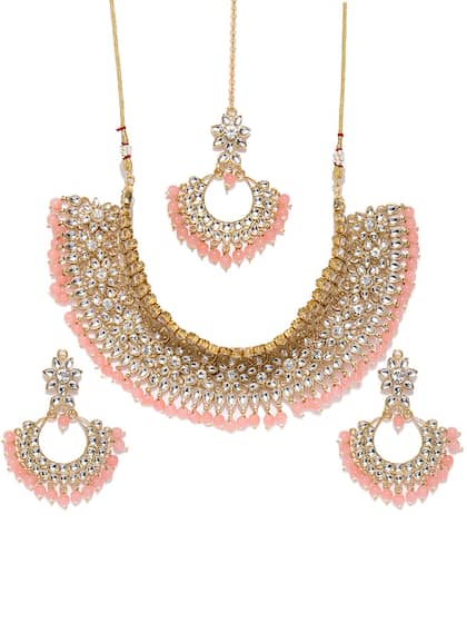b60dd399a Kundan Jewellery Set - Buy Kundan Jewellery Sets Online | Myntra