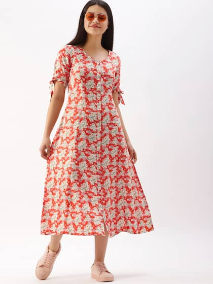fab2f5311e Floral Dresses - Buy Floral Print Dress Online in India