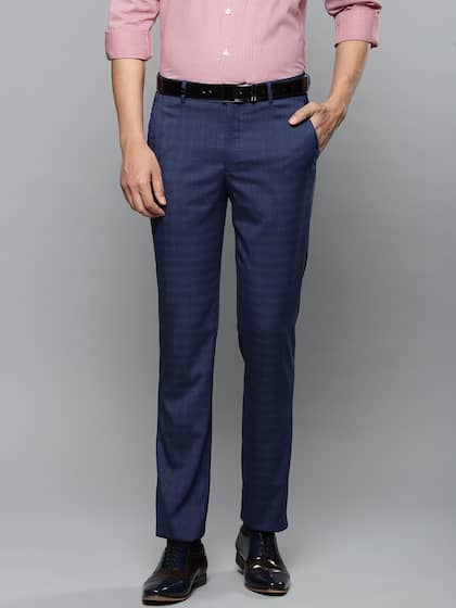 a9bbe632dbf Louis Philippe. Men Slim Fit Formal Trousers
