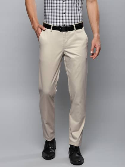 caf3a92854 Louis Philippe. Men Slim Fit Formal Trousers