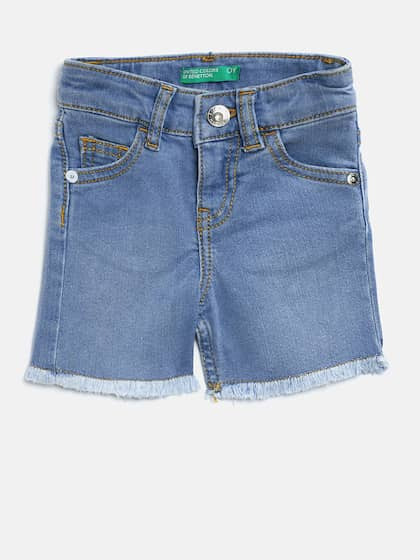 1a285c5ff9886 Shorts For Girls- Buy Girls Shorts online in India - Myntra