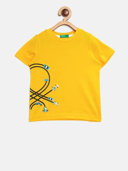 United Colors of Benetton. Solid Round Neck T-shirt