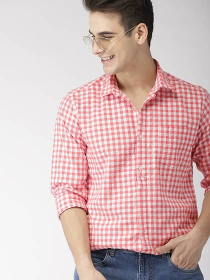 29ce93205 Mens White Shirts | Buy White Shirt For Men Online in India