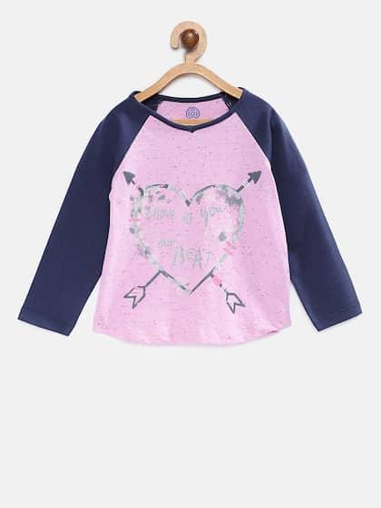 e9de7d1d4923a TAMBOURINE. Girls Printed T-shirt