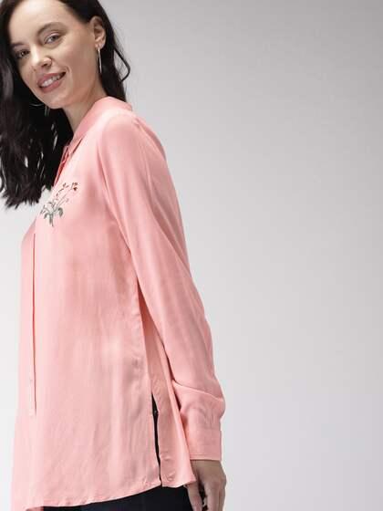 74a9cf2e Women Shirts - Buy Shirts for Women Online in India | Myntra
