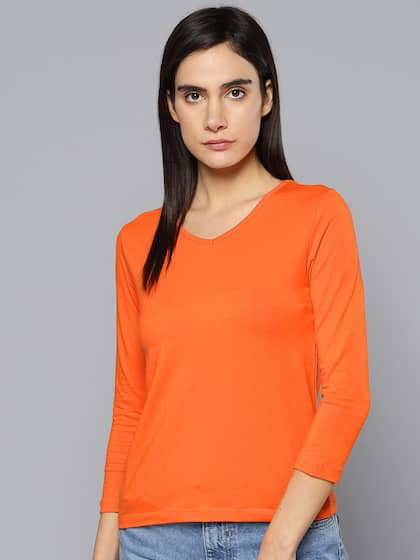 306c0518dd9 T-Shirts for Women - Buy Stylish Women s T-Shirts Online