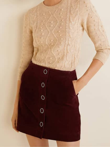e5886854d3f9 Leather Skirts - Buy Leather Skirts online in India