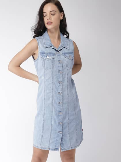 d47217d087a3d Denim Dresses - Buy Denim Dresses Online in India | Myntra