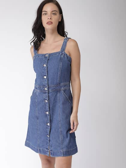 9744b5d0072 Denim Dresses - Buy Denim Dresses Online in India