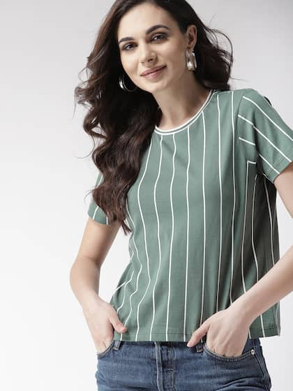aa15edebe T-Shirts for Women - Buy Stylish Women's T-Shirts Online   Myntra