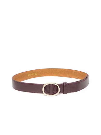 ccbfaf943 Belts for Women - Buy Ladies Belts Online in India   Myntra