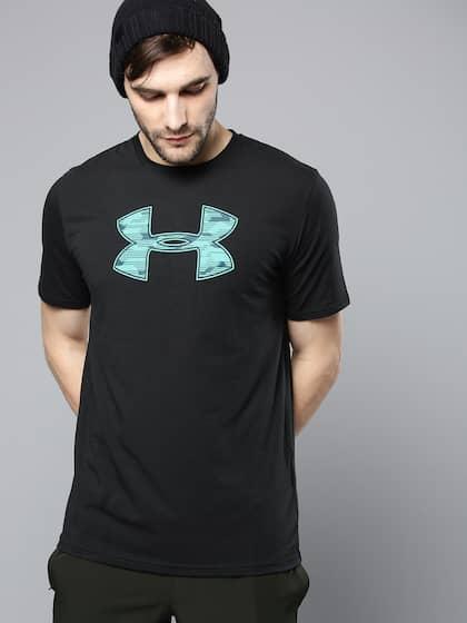 a06adfbcc060 Black Printed Big Logo T-Shirt