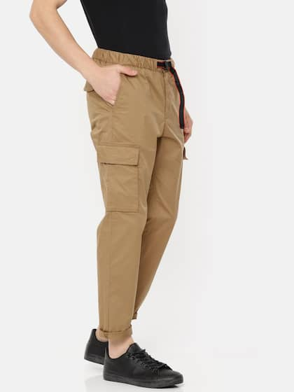 13a74578 Cargo Pants For Men - Buy Latest Trendy Cargo Pants Online | Myntra