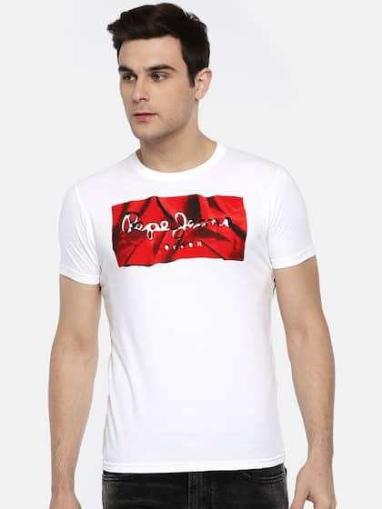 d63288a92 Pepe Jeans Tshirts - Buy Pepe Jeans Tshirts Online in India