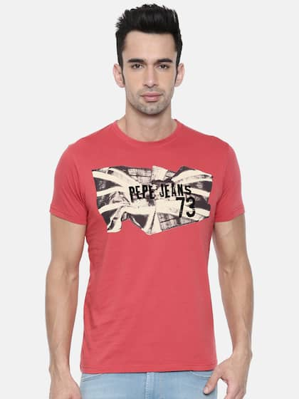 299587e5dd2d Pepe Jeans Tshirts - Buy Pepe Jeans Tshirts Online in India