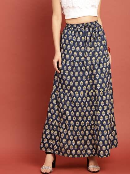 869a8dbea Ethnic Long Skirts - Buy Ethnic Long Skirts Online | Myntra