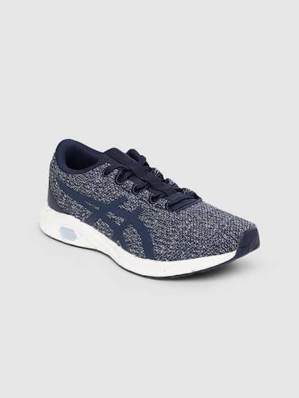 asics womens running shoes navy homme