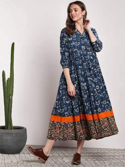 2e13728612ee Midi Dresses - Buy Midi Dress for Women & Girl Online | Myntra