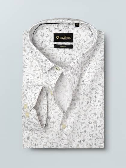 be3fa624 Formal Shirts for Men - Buy Men's Formal Shirts Online | Myntra