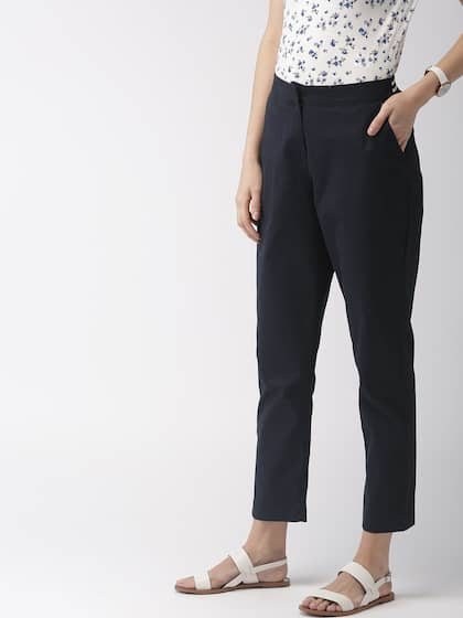 f6a89f0b31 Women's Trousers - Shop Online for Ladies Pants & Trousers in India ...