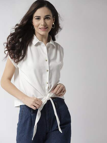 51359a09 Linen Shirts For Women - Buy Linen Shirts For Women online in India