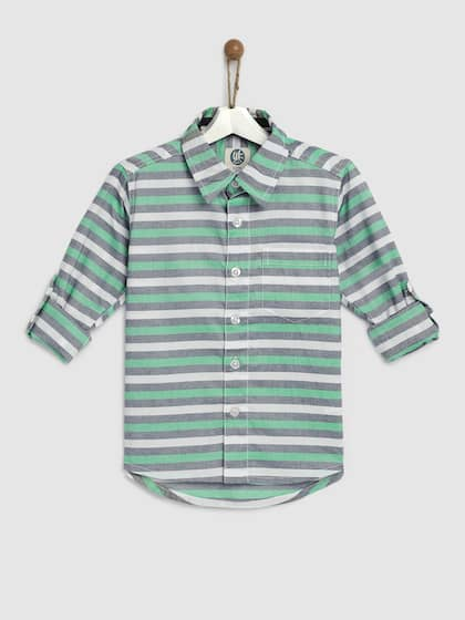 61f75a52 Boys Shirts- Buy Shirts for Boys online in India
