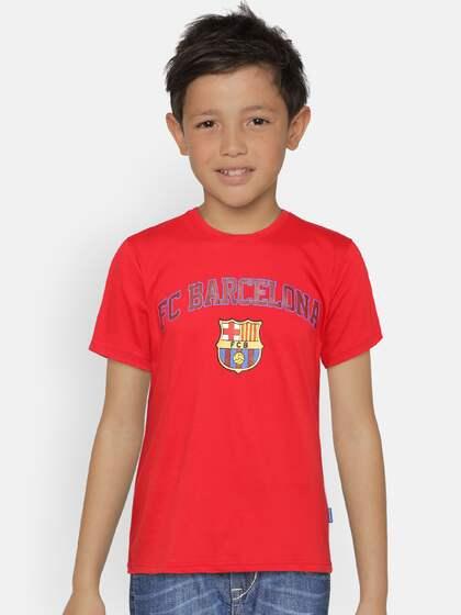 51dd57592f0 Fc Barcelona Tshirts - Buy Fc Barcelona Tshirts online in India