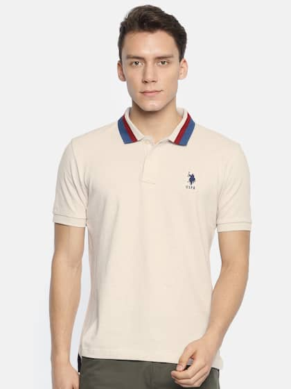 09b923d0 Polo T-Shirts - Buy Polo T-shirt for Men,Women & Kids | Myntra