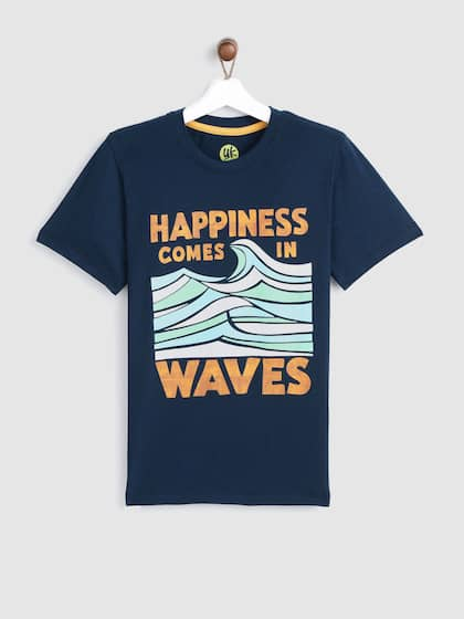 b6bdf72cfd30 Kids T shirts - Buy T shirts for Kids Online in India Myntra