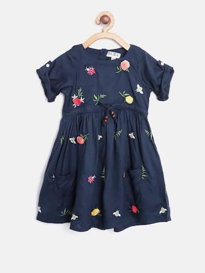 f2f3d2e0 Girls Dresses - Buy Frocks & Gowns for Girls Online | Myntra