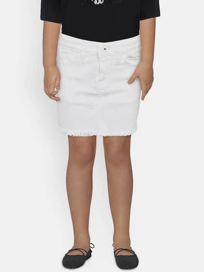 bcb4e9fc43c Denim Skirts - Buy Denim Skirts for Women Online | Myntra
