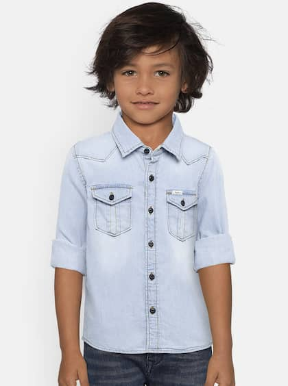 7285a112d0a5 Boys Shirts- Buy Shirts for Boys online in India
