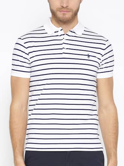 a4a63fd67 Polo Ralph Lauren. Slim Fit Striped Polo T-Shirt