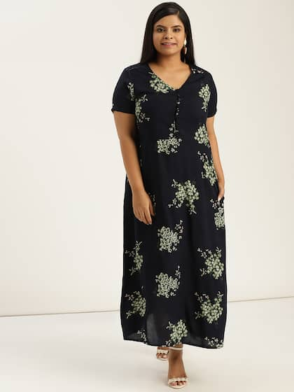 61c76b55420c Long Dresses - Buy Maxi Dresses for Women Online in India - Upto 70% OFF