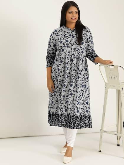 5ba39c7e7 A Line Kurtas - Buy A Line Kurtas online in India