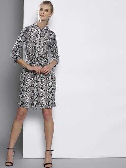 e163eb3cbf Animal Print Dresses - Buy Animal Print Dresses online in India