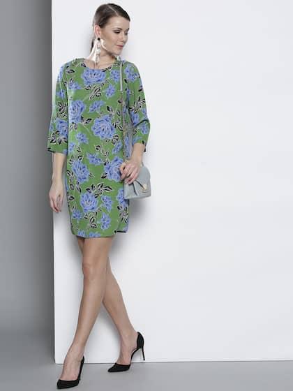 5891ead1fa6 Shift Dresses - Buy Shift Dresses for Women Online - Myntra