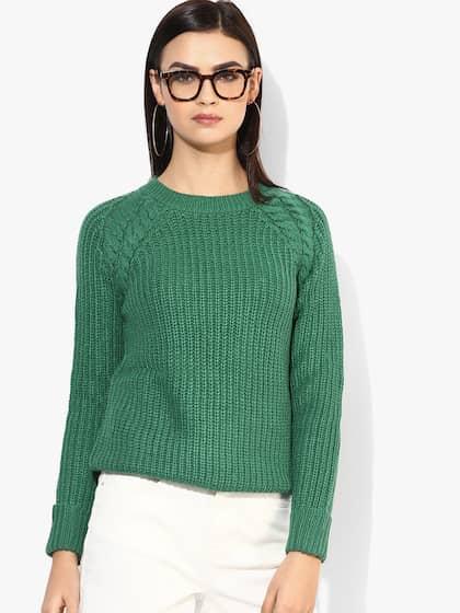 ae68d1811ed Sweaters for Women - Buy Womens Sweaters Online - Myntra