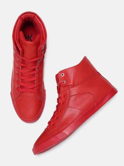Red Sneakers Buy Red Sneakers Online In India