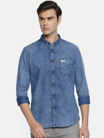 fab31d9174 U.S. Polo Assn. Denim Co. Men Slim Fit Casual Shirt