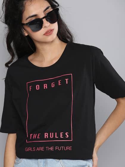 d45898a504c05 T-Shirts for Women - Buy Stylish Women s T-Shirts Online