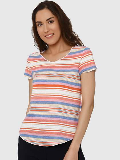 7b66a54b T-Shirts for Women - Buy Stylish Women's T-Shirts Online   Myntra