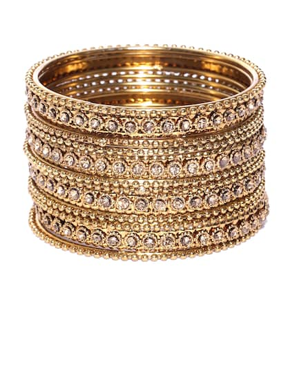 bfe38316a58 Bangles - Buy Bangles for Women & Girls Online in India | Myntra