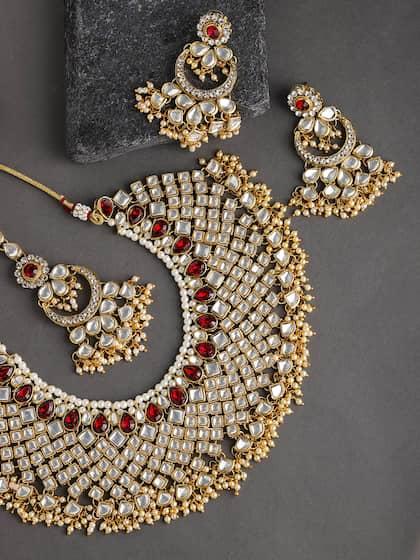 Kundan Jewellery Set - Buy Kundan Jewellery Sets Online | Myntra
